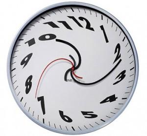 Klokke som spinner